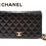Chanel Black Timeless Lambskin Classic Flap Bag