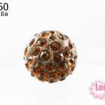 บอลเพชร เกรดดี 10 มิล สีน้ำตาล