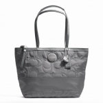  COACH Signature Stitch Nylon Tote Bag F17668