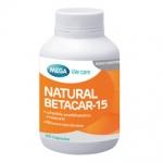 Mega We Care Natural Betacar-15 mg 60 เม็ด เบต้าคาร์โรทีน และคาร์โรทีนอยด์