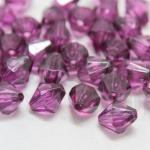 คริสตัลพลาสติก สีม่วงเข้ม 10มิล(100กรัม)(274เม็ด)