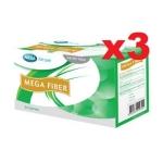 Set 3 กล่อง Mega We Care Mega Fiber 30 ซอง ไฟเบอร์ พรีไบโอติก