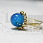 DiY idea 10 : แหวนโมราอาเกต Blue Lace Agate Rings