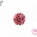 บอลเพชร เกรดดี 8 มิล สีม่วง (1ชิ้น)
