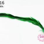ขนนกไล่สี สีเขียว ยาว 45 ซม. (1ชิ้น)