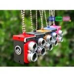 พวงกุญแจกล้อง Rock n Roll Mini Camera PA0119