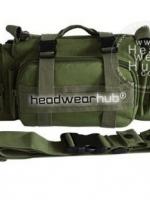 กระเป๋าจักรยานแขวนหน้าแฮนด์ ใช้งานได้หลากหลาย : สีเขียวขี้ม้า