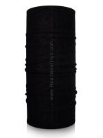 ผ้าบัฟ ผ้าโพกหัว TB1116 สีดำล้วน Plain Black