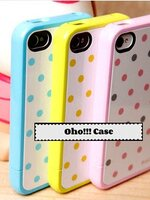 ***พรีออเดอร์*** Case iPhone 4/4s SGP BISKIT POLKA DOT 150/230