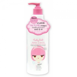 cathy doll ready 2 white one day whitener body cleanser 450ml.