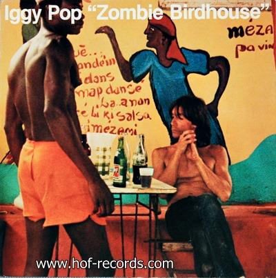 """Iggy Pop - """"Zombie Birdhouse"""" 1982"""