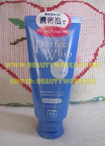 Shiseido perfect whip foam 120 g.
