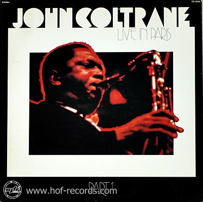 John Coltrane - Live In Paris 1lp
