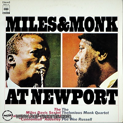 Miles Davis - Miles&Monk At Newport 1lp