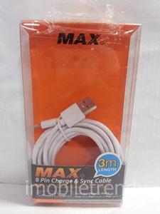 สายเคเบิลไอโฟนห้า 3เมตร (Cable iPhone 5 (3M)) Maxpower
