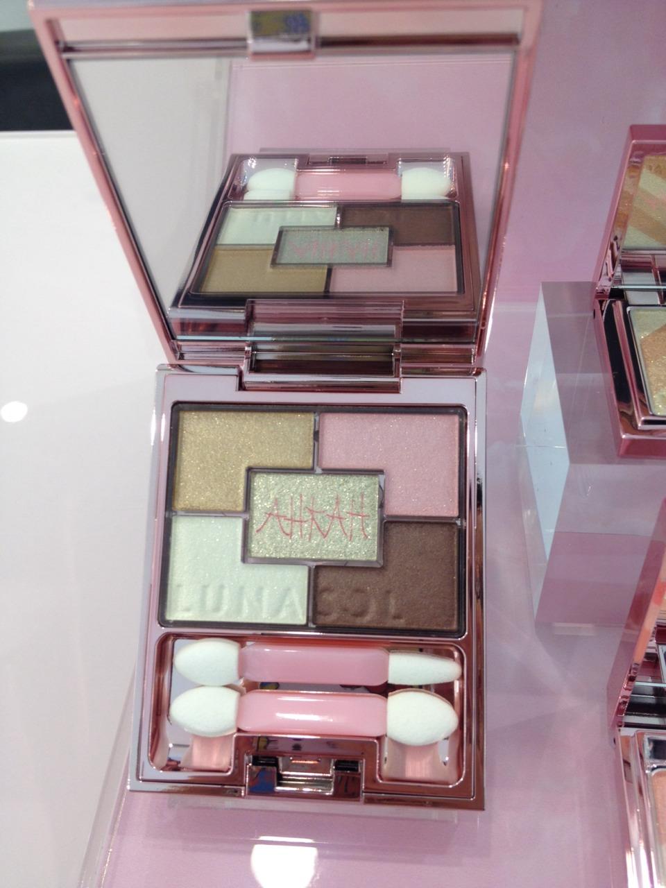 Kanebo LUNASOL AHKAH COLLECTION EYES #EX01 Sheer Pink Beige