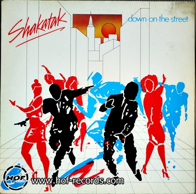Shakatak - Down on the street 1 LP