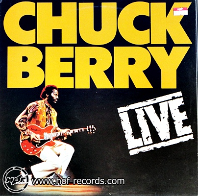 chuck berry - live 1lp