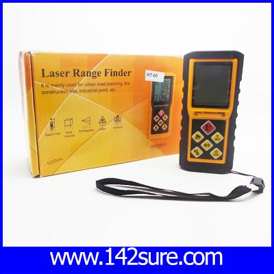 DMT028 : เครื่องมือวัดระยะ เครื่องวัดระยะดิจิตอล มิเตอร์วัดระยะดิจิตอล Laser Distance Mete วัดระยะ 80M ความแม่นยำ 1.5mm