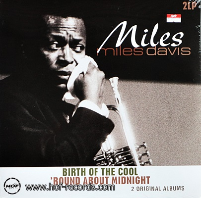 Miles Davis - Birth Of The Cool,Round About Midnight 2lp NEW