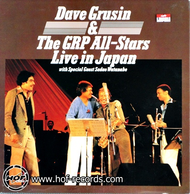 Dave Grusin -& GRP - live in japan 1lp