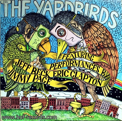 The Yardbirds - Featuring Performances By Jeff Beck , Eric Clapton , Jimmy Page 2Lp
