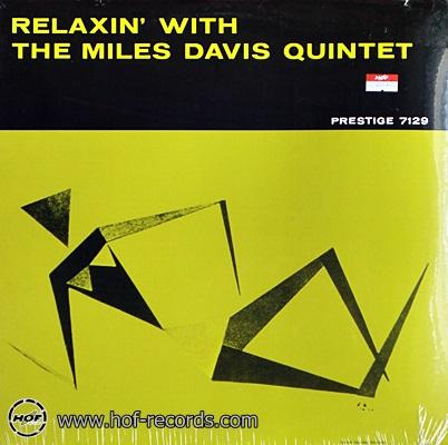Miles Davis - Relaxin' With The Miles Davis Quintet 1lp NEW