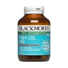 Blackmores Fish Oil 1000 mg 80 แคปซูล ลดไขมันในเลือดโดยเฉพาะไขมันจำพวกไตรกรีเซอไรด์ ต้านอนุมูลอิสระ