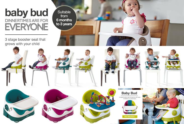เก้าอี้หัดนั่งทานข้าว,เก้าอี้เสริมผู้ใหญ่ Baby Bud,เก้าอี้หัดนั่ง Baby Bud,Baby Booster Seat Chair เก้าอี้นั่งเด็กแบบพกพา