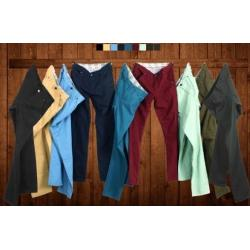 ใหญ่พิเศษ!!กางเกงสแล็คกระบอก หลากสี ใส่สบาย กระเป๋าสามเหลี่ยม Mar เอว No.28-40ดำ ขาว กากีอ่อน เขียวทหาร เหลือง น้ำเงิน ฟ้าเขียว เขียวอ่อน แดง ส้ม เขียวเข้ม