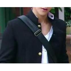 Limitedกระดุมพิเศษเล็ก+ใหญ่!!เสื้อสูทนร ญี่ปุ่น คอจีน คอเต่า กระดุมเงินหรือทอง แต่งคอขาว Size No.34 36 38 40-42 44 ดำ