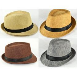 หมวกไนล่อน แฟชั่น ผู้ชายอังกฤษ แต่งผ้า (น้ำตาล เบจ เทา กากี เทาอ่อน) สำเนา