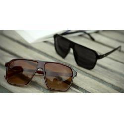 กรอบแว่นตากันแดดแฟชั่น เรโทร แบบAvi ใหญ่ (ดำเงา น้ำตาลด้าน ดำด้าน กระแดง น้ำตาลเข้ม น้ำตาลครึ่ง )