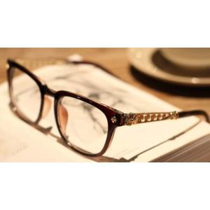 กรอบแว่นสายตาแฟชั่น เรโทร วินเทจ แต่งขาฉลุทอง สี ดำ น้ำตาล กระ