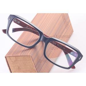 กรอบแว่นสายตาใหญ่ ขาลายไม้ ทูโทน No.1 (ดำเงา ดำด้าน ชา กระ )