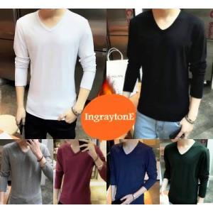 เสื้อสเวตเตอร์ sweater ไหมพรม คอกลม คอวี No.34 36,38,40,42 หลากสี