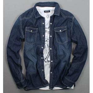 เสื้อเชิ้ตแขนยาว แฟชั่น ผ้ายีนส์ ปกเล็ก สไตล์อังกฤษ size No.38 40