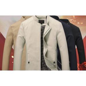 6สี !! เสื้อสูทคอจีน เสื้อคลุมคอจีน แต่งกระดุมข้าง แบบเรียบ Size No 36 38 40 42 44 46 น้ำตาล ดำ ครีม น้ำเงิน แดง เขียว