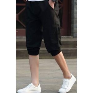 หลากสี +ใหญ่ กางเกงขาจั๊มผ้าฝ้าย ไม่ยืด ใส่สบาย สีล้วน เอวจั๊ม รูด หลากสี size 28-38
