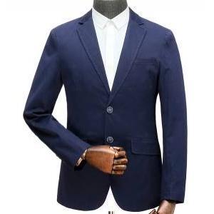 เสื้อสูทลำลองแฟชั่นผู้ชาย ปกเปิด TURT size 38 40 44 46