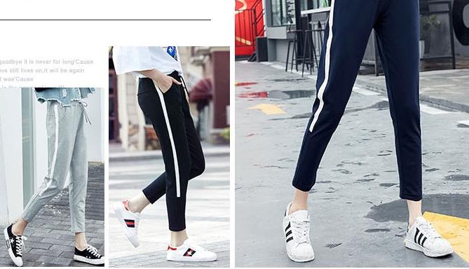 ฝ้าย5ส่วน!! กางเกงผ้าฝ้ายผู้หญิง สามส่วน 5ส่วน เอวรูด ออกกำลังกาย ฟิตเนส JD สี เทา น้ำเงิน ดำ