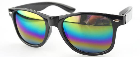แว่นตากันแดดแฟชั่น (ดำปรอท)