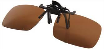Polarize คลิบออนหนีบแว่นตากันแดด แข็งแรง พับเปิดปิดง่าย อเนกประส่งค์ กันUV400 (ดำเขียว ชา ดำเทา)