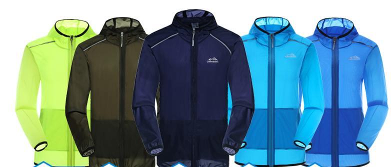 ซื้อ1คู่ คู่ละ 1250 !!เสื้อฮูดhood ป้องกันแดด เสื้อผ้าร่ม ระบายอากาศ ไม่ร้อน สีฟ้าอ่อน เขียวเข้ม เขียวสะท้อน No.36 38 40 42 44 46 48 50