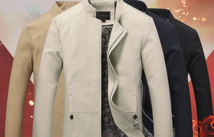 เสื้อสูทคอจีน เสื้อคลุมคอจีน แต่งกระดุมข้าง แบบเรียบ Size No 36 38 40 42 44 46 ดำ ครีม