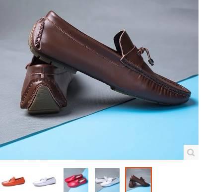 3สี!! รองเท้าloafer รองเท้าคัทชู หนังเงา พู่หลากสี รุ่นคลาสสิค P10 น้ำตาล ดำ ขาวNo.37-44