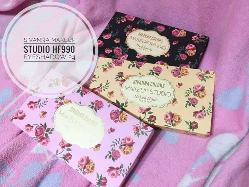 Sivanna Colors Makeup Studio HF990 พาเลทอายแชโดว์ 24 สี ราคาปลีก 220 บาท / ราคาส่ง 176 บาท