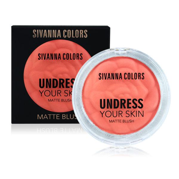 Sivanna Colors UNDERESS YOUR SKIN MATTE BLUSH HF1005 ราคาปลีก 80 บาท / ราคาส่ง 64 บาท