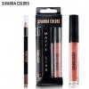 Sivanna colors matte lips HF 7004 สิวันนา เซตลิปกลอสเนื้อแมท+ลิปไลน์เนอร์ ราคาปลีก 100 บาท / ราคาส่ง 80 บาท