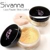 แป้งฝุ่น SIVANNA Loose Powder Shine-Control Sheer-Long Wear แป้งซีเวียนา แป้งฝุ่นฝาดำ คุมมันติดทนนาน เนื้อแป้งละเอียด ราคาปลีก บาท ราคาส่ง บาท